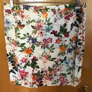 NEW with tags! Loft Floral Skirt!
